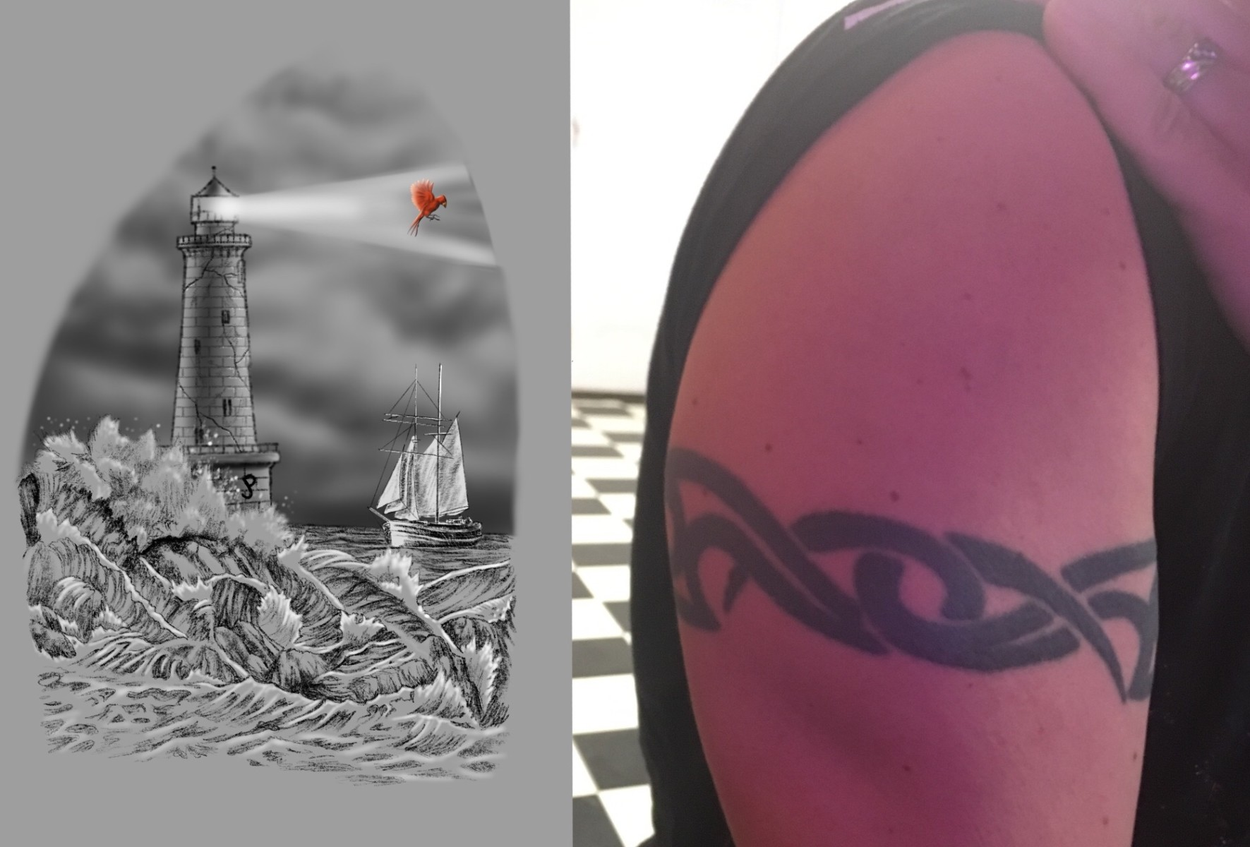 Another reptile and coverup design