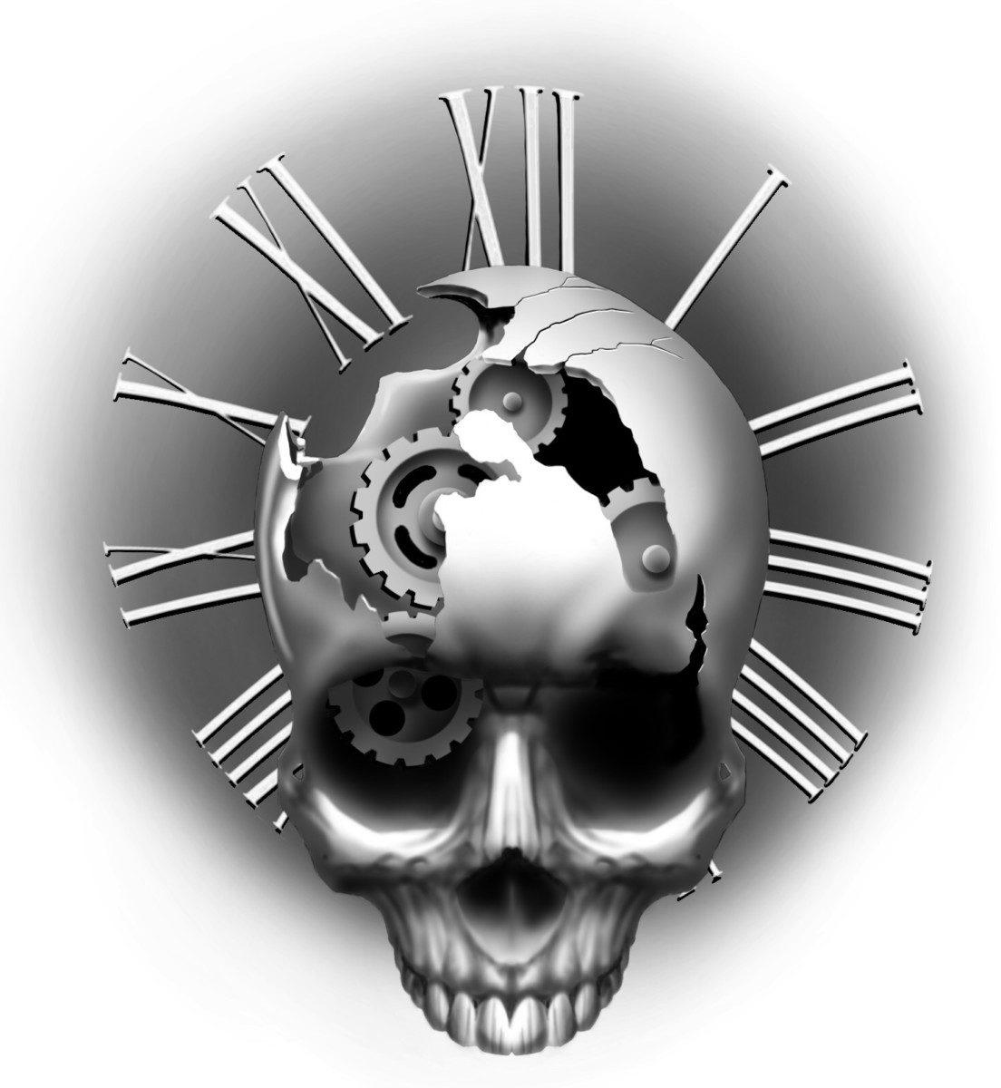 Lotus and Skull