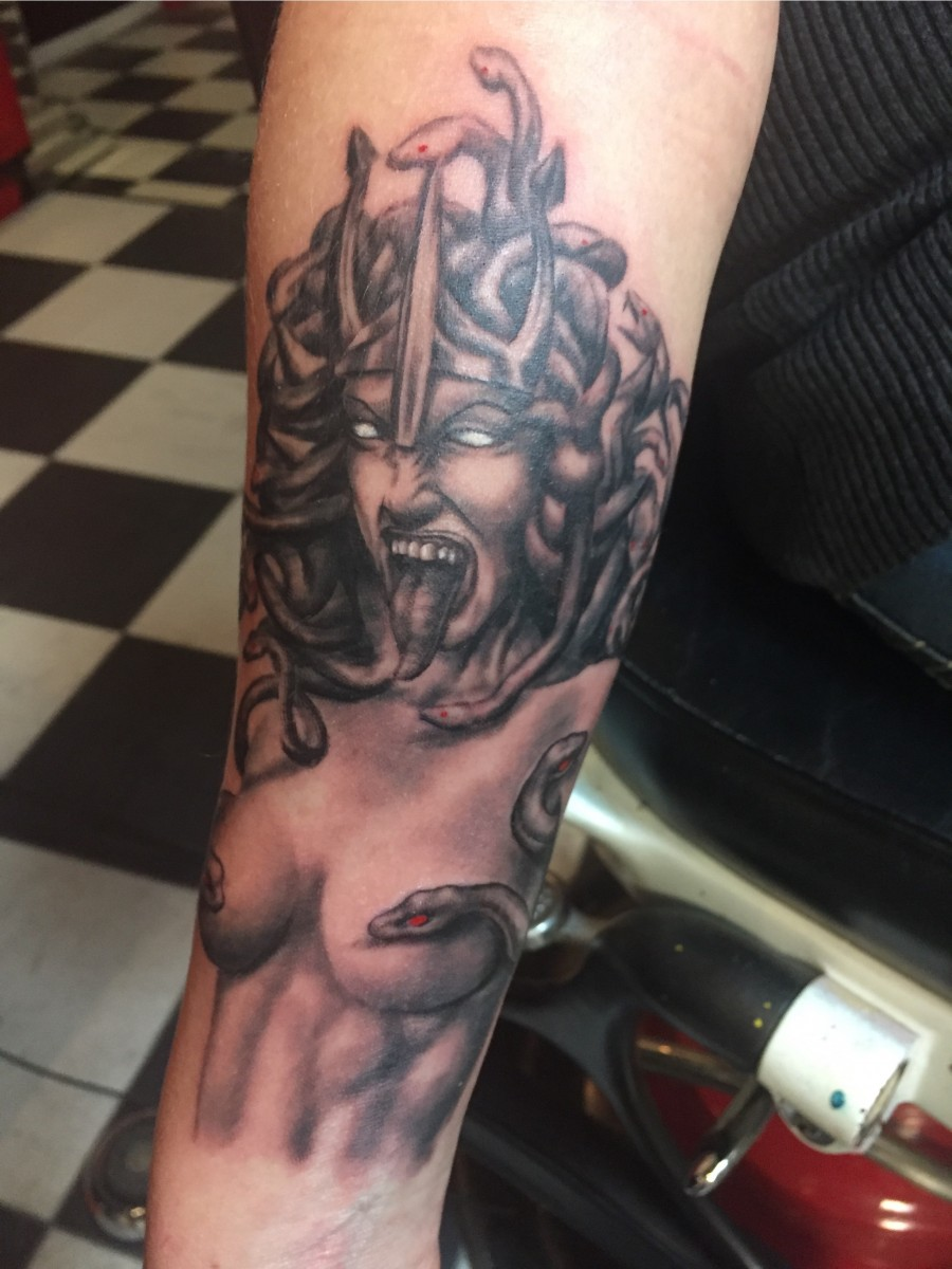 Medusa And a Puppy?