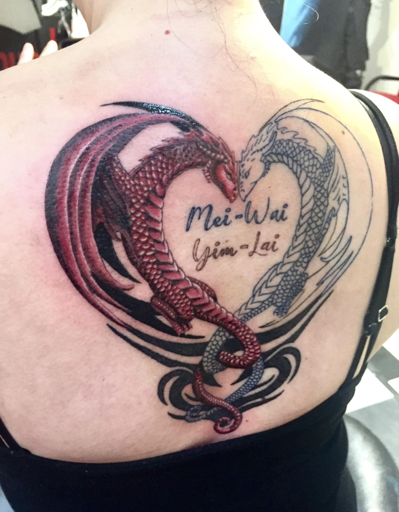 Dragons and Krakens